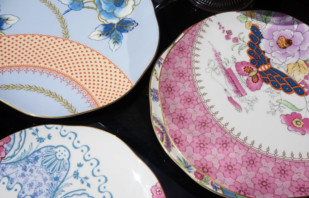 Wedgwood butterfly bloom tea plates
