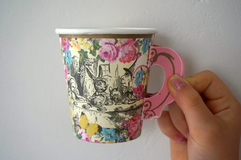 Truly Alice tea cups