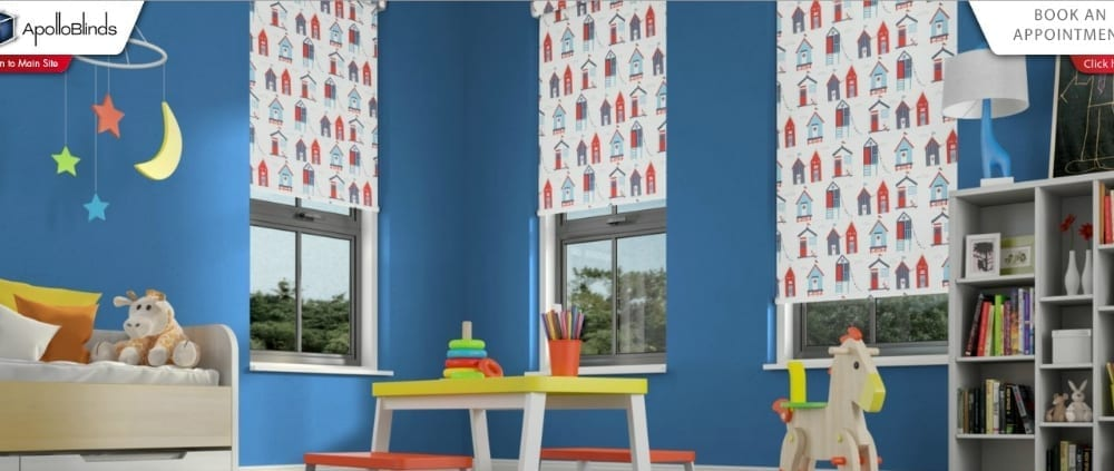 kids room apollo blinds visualiser