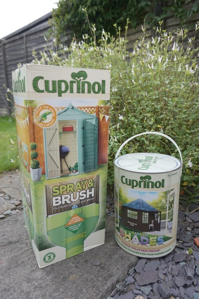 Cuprinal Spray and Brush