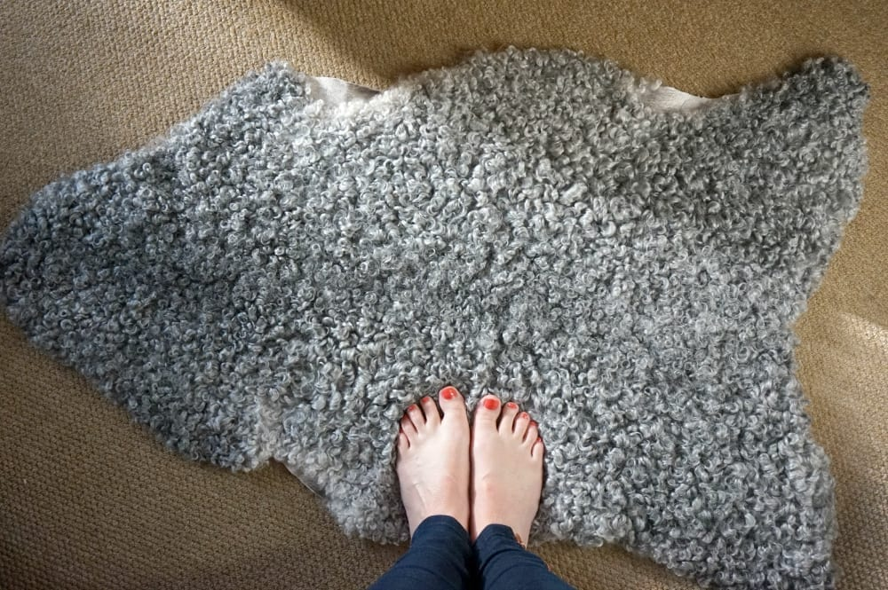 swedish sheepskin rugs