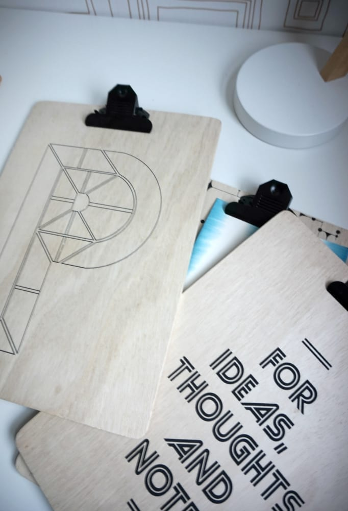 Made in Design clipboards