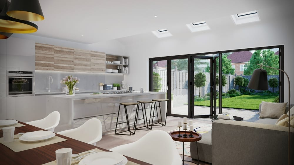 Beautiful open plan living space