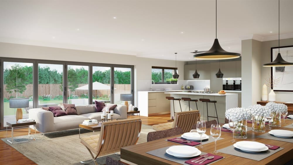 What are the pros and cons of open plan living love Open plan kitchen diner living room