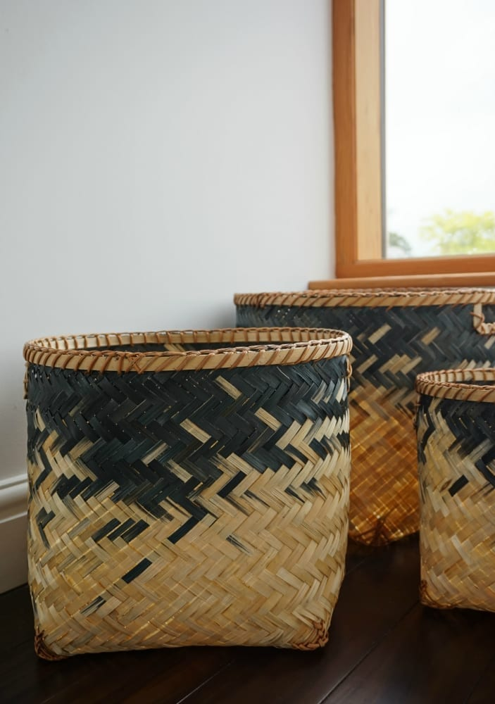 Clas Ohlson wicker storage