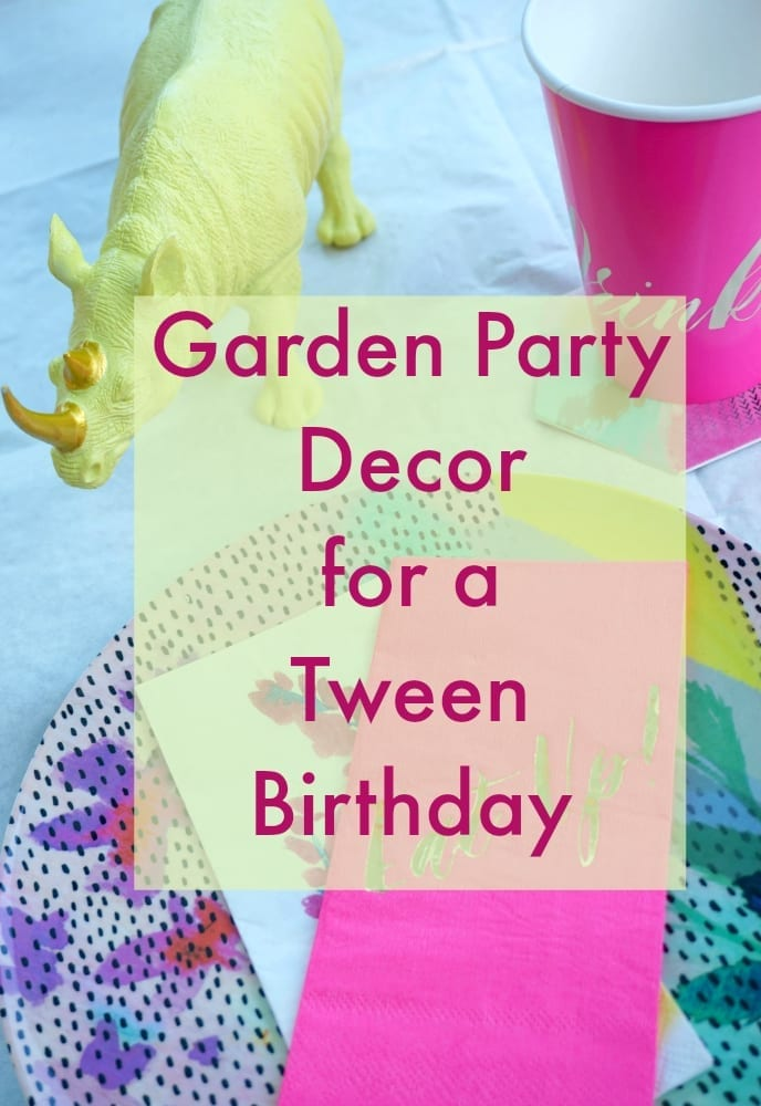 If you're looking for ideas on how to decorate your garden for a tween birthday party, look no further. These decorations are fun, fashionable, on trend and vibrant. Consisting of fun fluorescent floral patters and designs, your tween girl is going to love this selection. Click on through to find out more.
