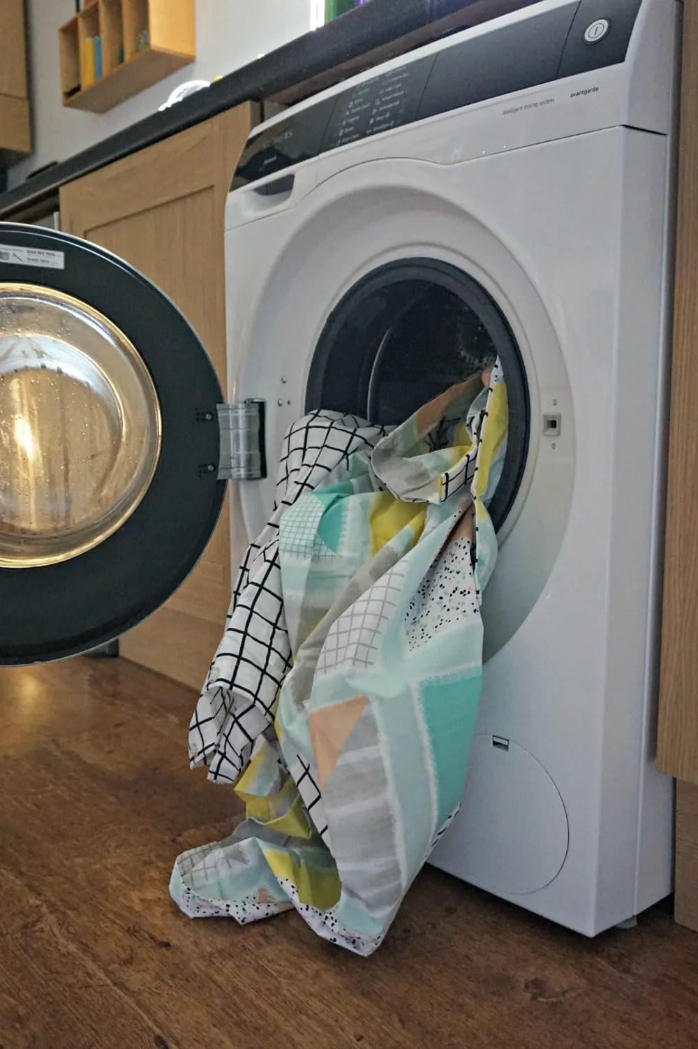 Siemens washing machine bedding