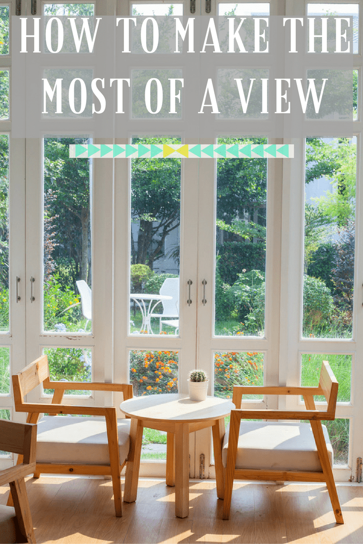 If you have a lovely view from a great window in your home you really need to make the most of it. Top tips and inspirations on how to make the most of a window view, which is your favorite.