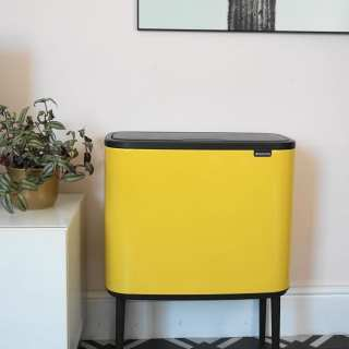 The New Brabantia Bo Touch Bin: Waste Never Looked this Good