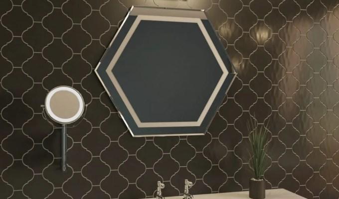 WIN a Glamorous Bathroom Mirror from soak.com worth £79.99