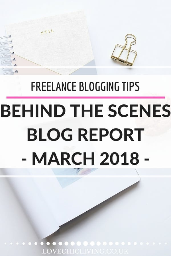 Want to know what life is like for a freelance blogger, or a home decor blogger - check out what my working month was like during March, the ups and downs, the income and expenses plus how a freelancer takes time off. #jenstanbrook #lovechicliving #freelanceblogger