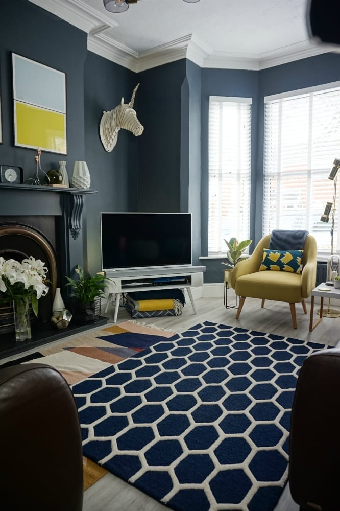 How to Layer your Living Room Rugs - Love Chic Living