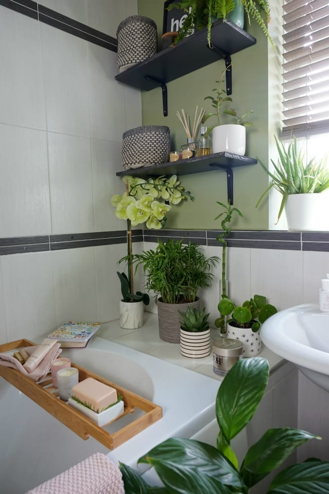 Small Bathroom Makeover: A Relaxing Sensory Space
