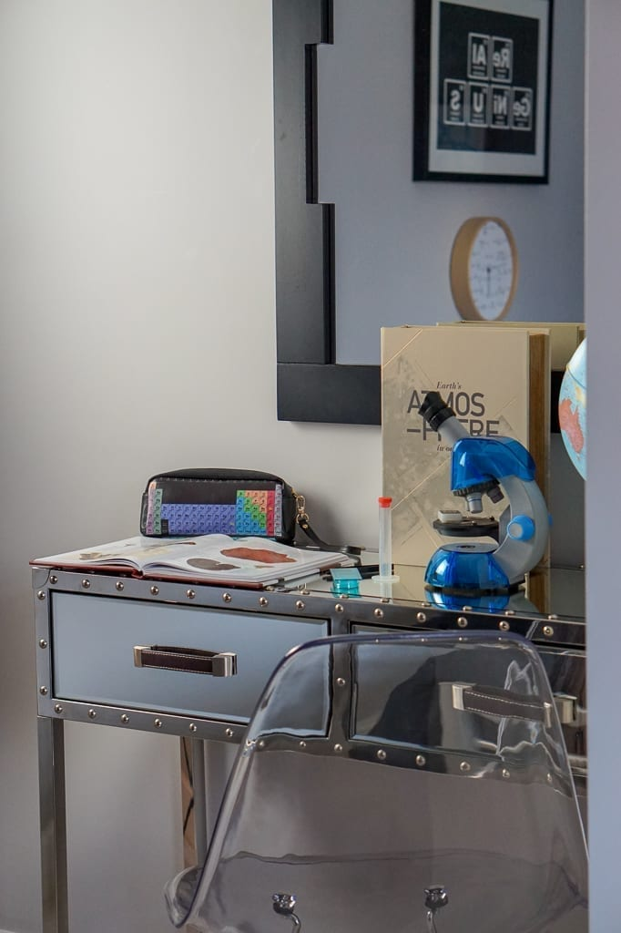 Miller Homes showhome kids desk