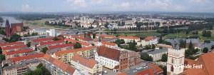 Frankfurt (Oder) mit Blick Ÿber die Stadtgrenze