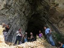 входа на пещера Очилата