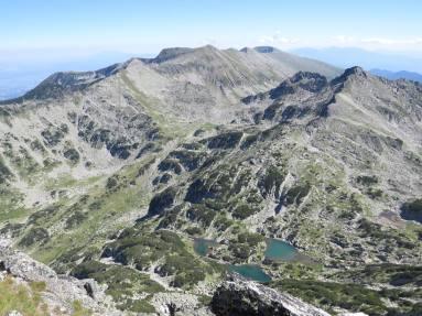 10. Поглед от връх Джангал 2 731 м.