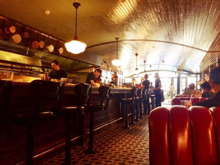 The Electric Diner in Notting Hill