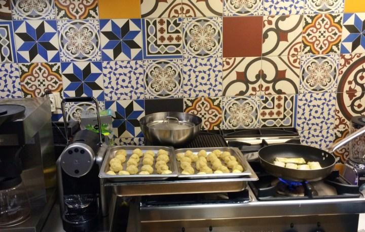 Griekse kookles in Athene