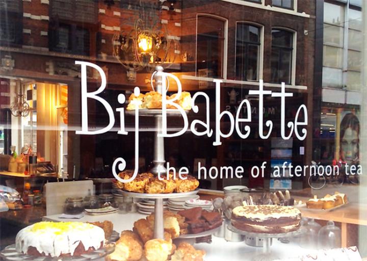 Bij Babette tearoom Haarlem