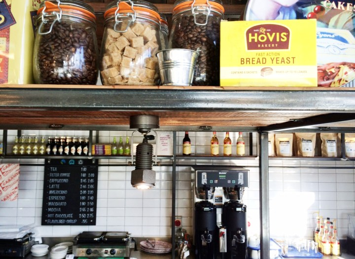 Manchester koffie Warehouse cafe