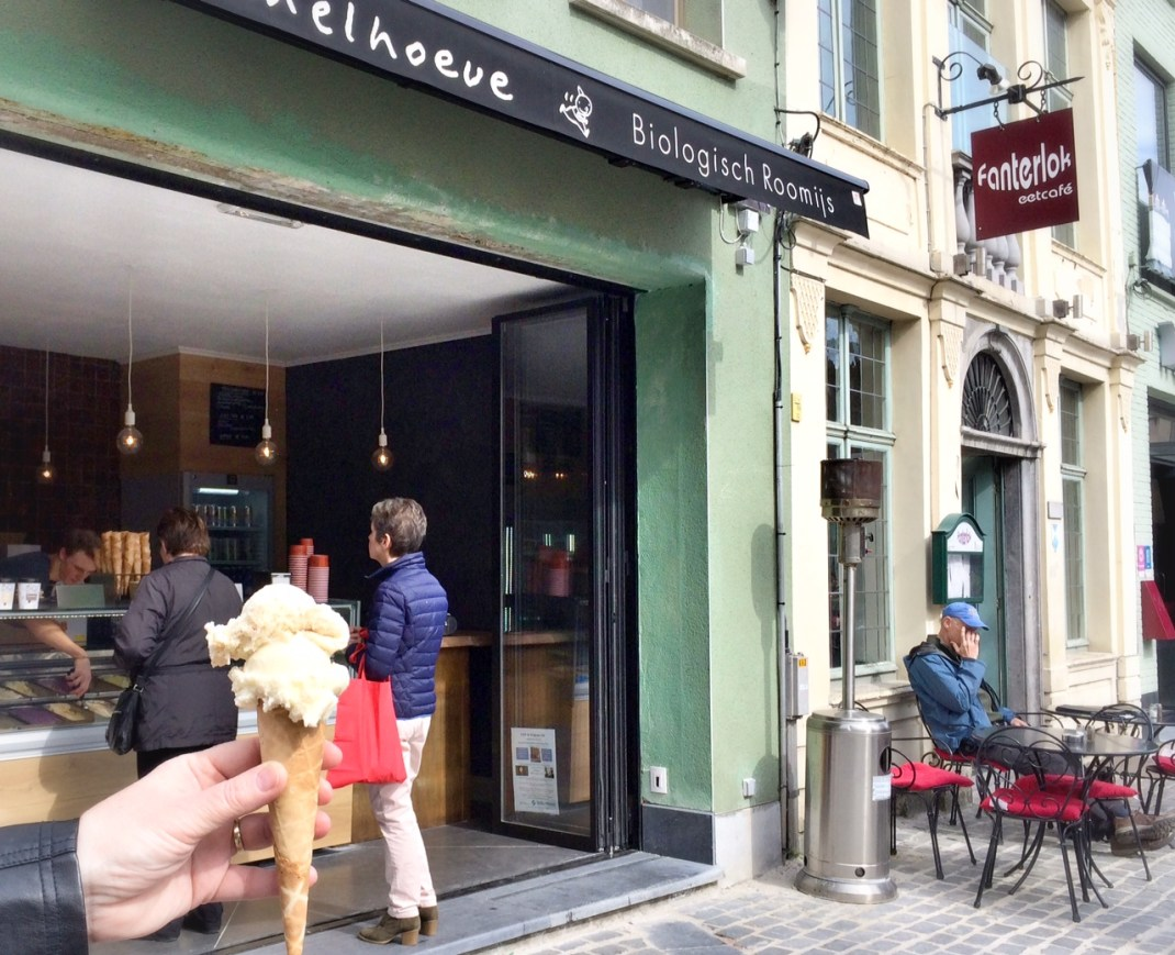 BIO-ijs salon Mechelen Trommelhoeve