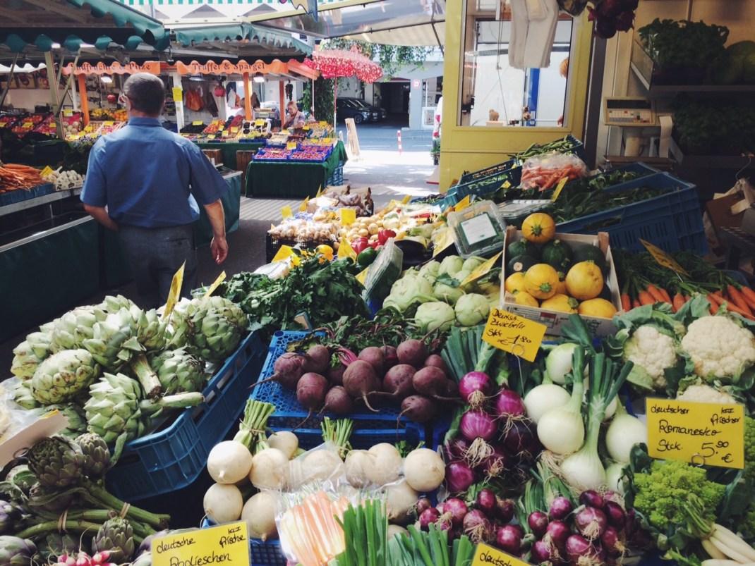 Markt am Carlsplatz Düsseldorf
