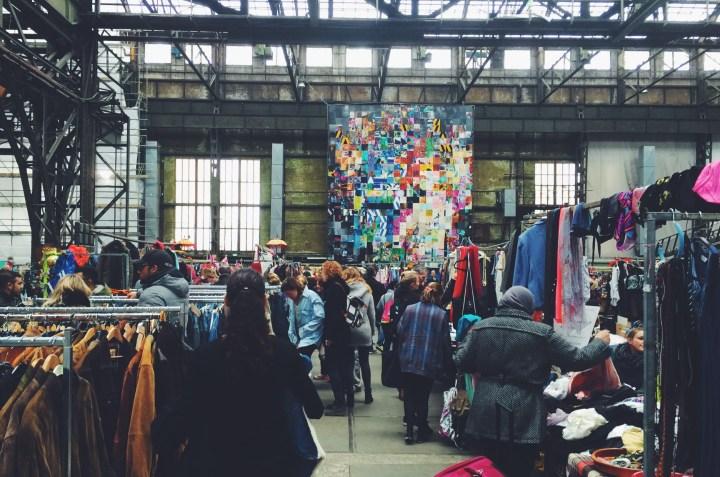 Inhalen vlooienmarkt amsterdam