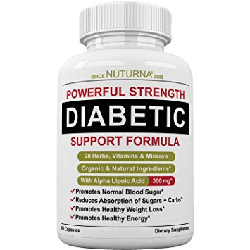 Diabetes or prediabetes Supplement: 60 capsules, 30days total control- Doctors/Pharmacist Recommended.