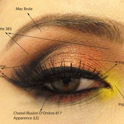 How To Apply Eyeshadow Diagram Free Tool Draw Architecture Smoked Copper With A Lil Bit Of Sunshine Using Inglot