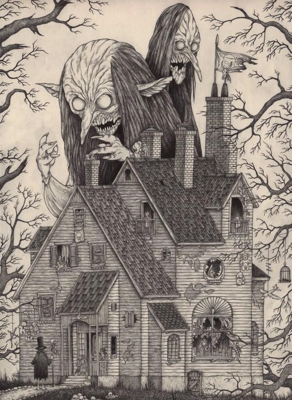 Edward Gorey Illustrated Lovecraft Ezine