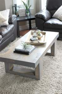 Modern Coffee Table Build Plans - Love Create Celebrate