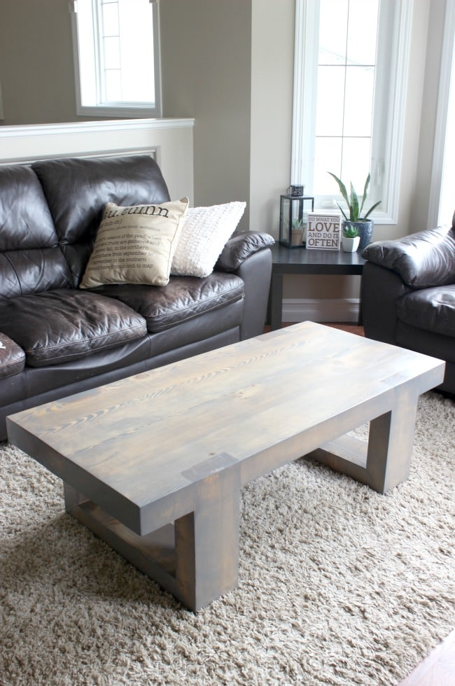 Modern Coffee Table Build Plans