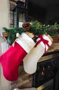 Cozy & Rustic Christmas Mantel - Love Create Celebrate