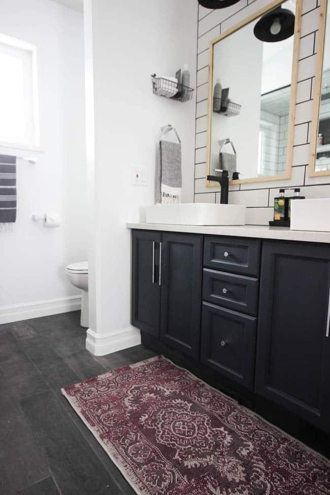 Modern Bathroom Reveal | Love Create Celebrate