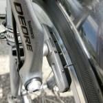自転車のV型ブレーキとブレーキシューの交換