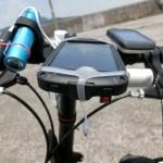 自転車での安価なモバイルバッテリー スマホナビはこれで安心