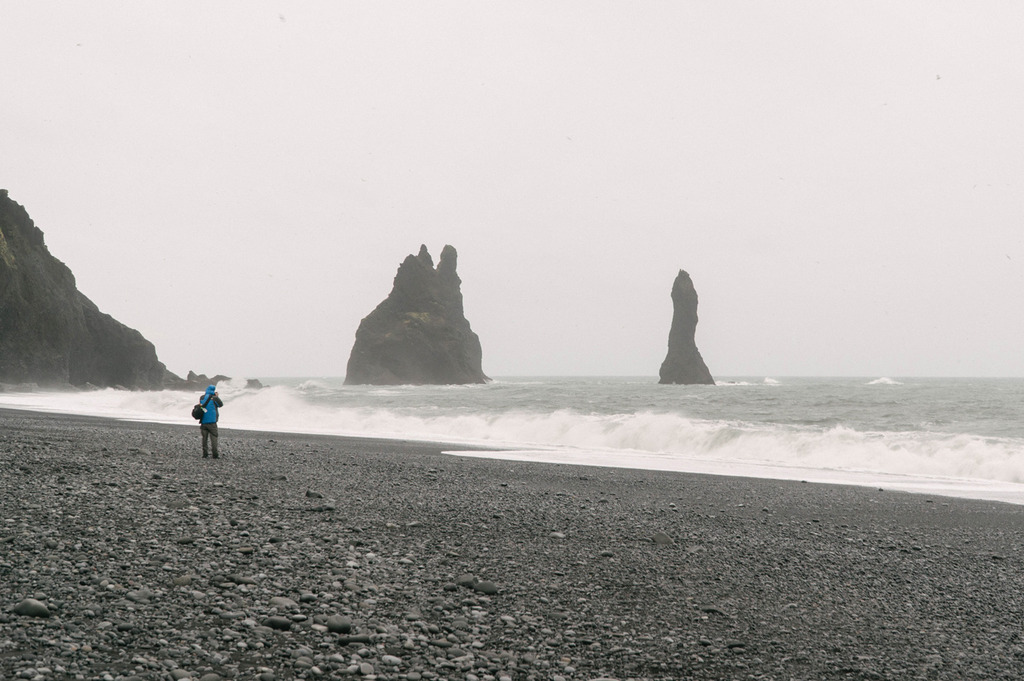 iceland ring road reynisfjara beach