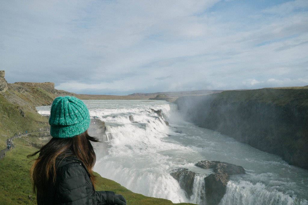 iceland ring road gullfoss