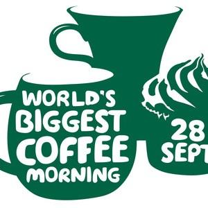 Macmillian coffee logo