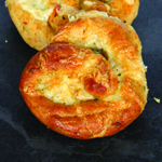Quick cheese and jalapeno pretzels