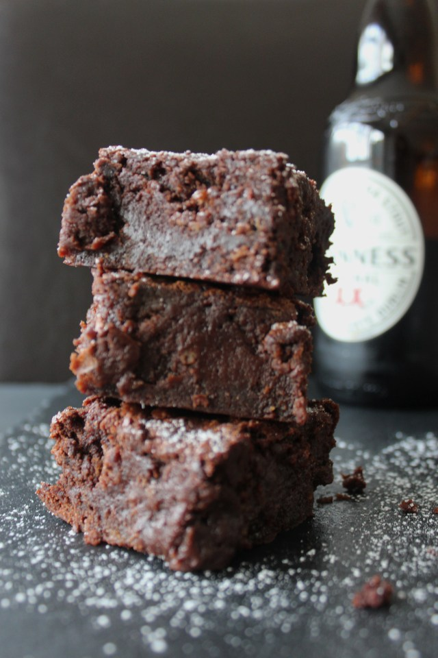 Guiness Brownies5