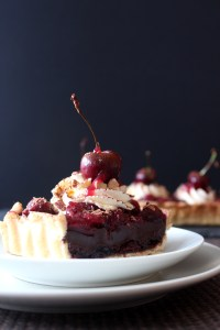 Eggless Blackforest Tart8