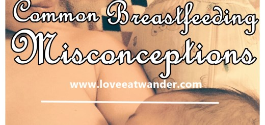 COMMON BREASTFEEDING MISCONCEPTIONS