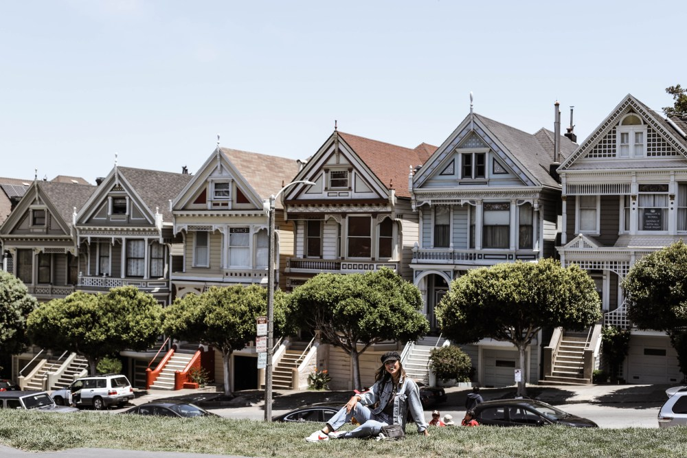 the painted ladies san francisco