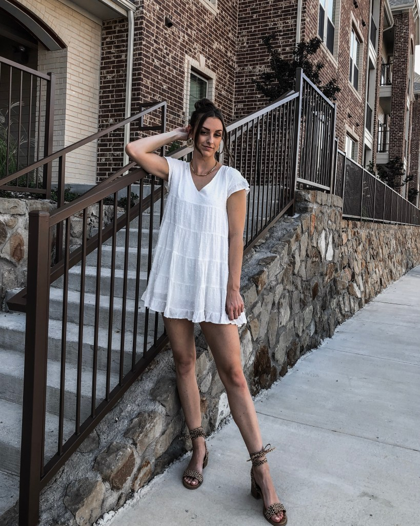 urban outfitters babydoll dress lack of color felt hat