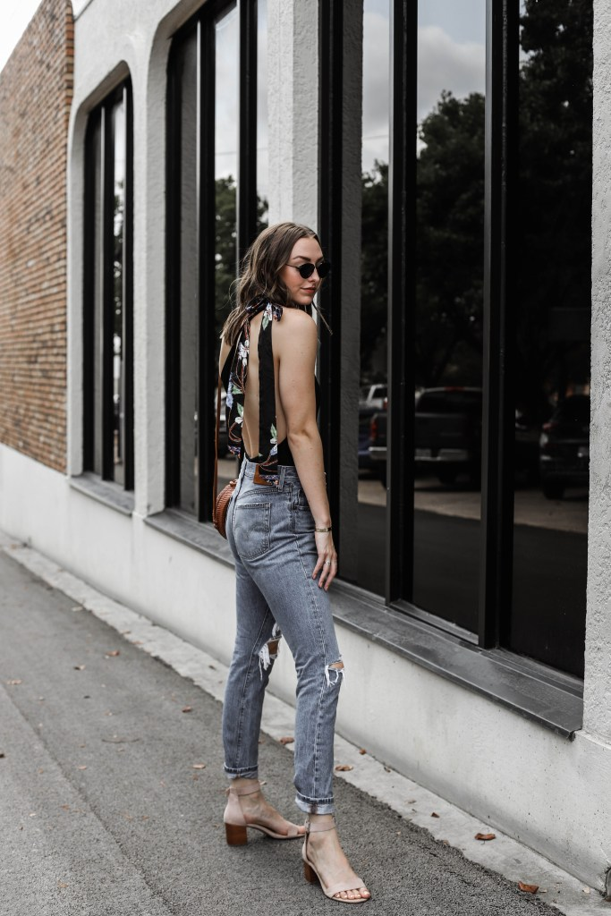 cute summer date night outfit lulus levis