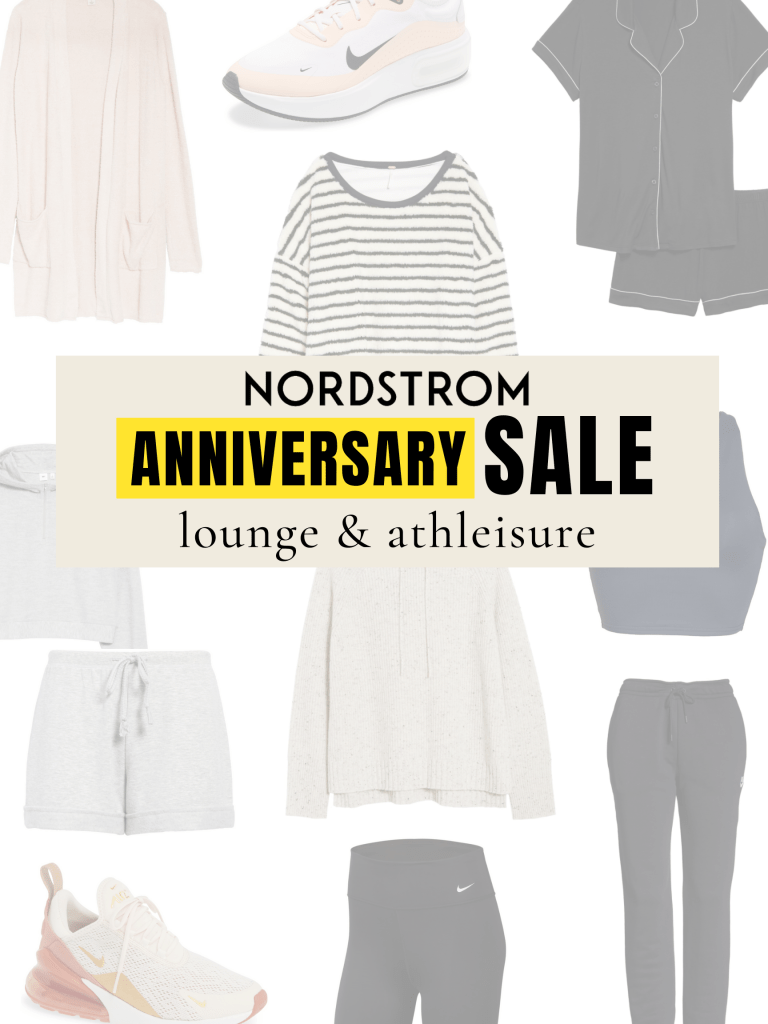 nordstrom sale loungewear and athleisure