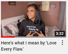 Introduce love every flaw