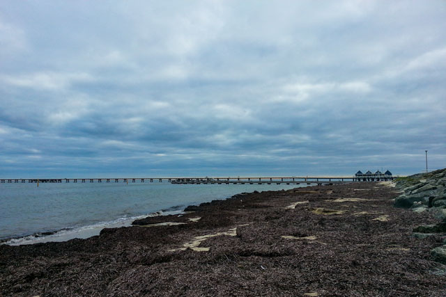Busselton jetty in the distance